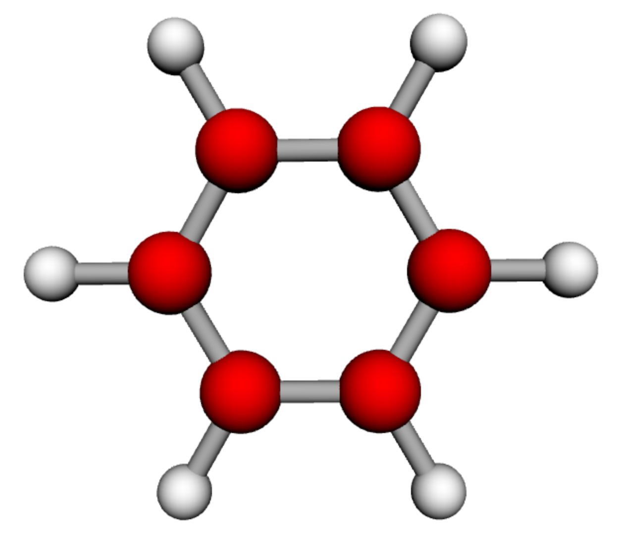 Benzene is an organic chemical compound with the chemical formula C 6 H 6 The benzene molecule is composed of six carbon atoms joined in a ring with one hydrogen